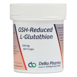 DEBA PHARMA HEALTH PRODUCTS GSH-REDUCED-L-GLUTATHION 150 (60 V-CAPS)