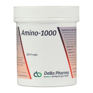 DEBA PHARMA AMINO 1000 (120 V-CAPS)