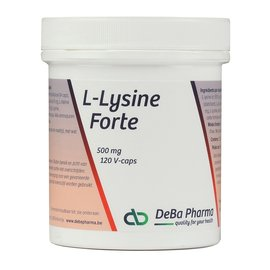 DEBA PHARMA HEALTH PRODUCTS L-LYSINE FORTE (120 V-CAPS)