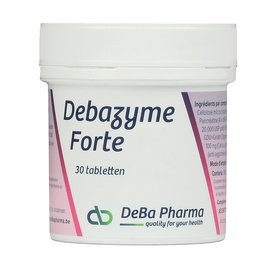 DEBA PHARMA HEALTH PRODUCTS DEBAZYME FORTE (30 COMPRIMÉS)