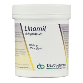 DEBA PHARMA HEALTH PRODUCTS LINOMIL HUILE DE LIN (100 SOFTGELS)