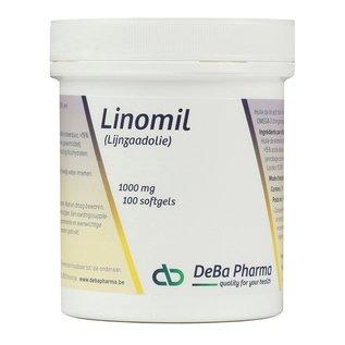 DEBA PHARMA HEALTH PRODUCTS LINOMIL HUILE DE LIN (100 SOFTGELS)