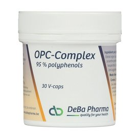 DEBA PHARMA HEALTH PRODUCTS OPC COMPLEX (30 V-CAPS)