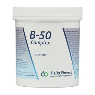DEBA PHARMA HEALTH PRODUCTS B-50 COMPLEX (200 V-CAPS)