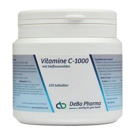 DEBA PHARMA VITAMINE C 1000 met BIOFLAVONOIDEN (250 TABLETTEN)