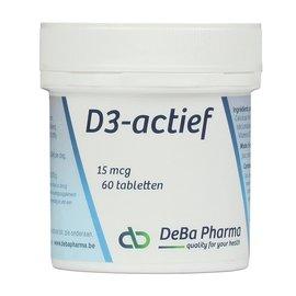 DEBA PHARMA VITAMINE D3 ACTIEF (60 TABLETTEN)