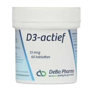 DEBA PHARMA VITAMINE D3 ACTIVE (60 COMPRIMÉS)