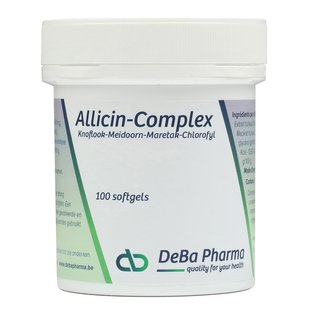 DEBA PHARMA HEALTH PRODUCTS ALLICIN COMPLEX (100 SOFTGELS)