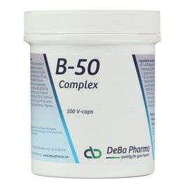 DEBA PHARMA HEALTH PRODUCTS B-50 COMPLEX (100 V-CAPS)