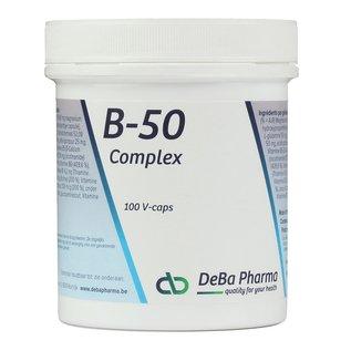 DEBA PHARMA HEALTH PRODUCTS B-50 COMPLEX (100 V-CAPS)
