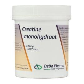DEBA PHARMA CREATINE MONOHYDRAAT (100 V-CAPS)