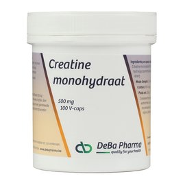 DEBA PHARMA HEALTH PRODUCTS CREATINE MONOHYDRAAT (100 V-CAPS)