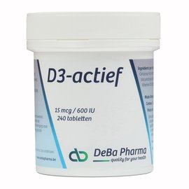 DEBA PHARMA VITAMINE D3 ACTIEF (240 TABLETTEN)