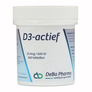 DEBA PHARMA HEALTH PRODUCTS VITAMINE D3 ACTIVE (240 COMPRIMÉS)