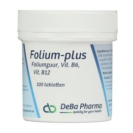 DEBA PHARMA HEALTH PRODUCTS FOLIUM PLUS (100 COMPRIMÉS)