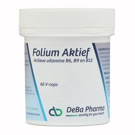DEBA PHARMA HEALTH PRODUCTS FOLIUM AKTIEF (60 V-CAPS)