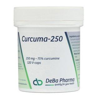 DEBA PHARMA CURCUMA 250 (120 V-CAPS)