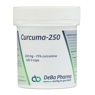 DEBA PHARMA HEALTH PRODUCTS CURCUMA 250 (120 V-CAPS)