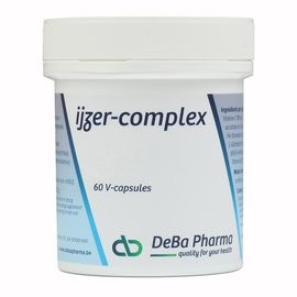 DEBA PHARMA HEALTH PRODUCTS COMPLEXE DE FER (60 V-CAPS)
