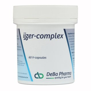 DEBA PHARMA HEALTH PRODUCTS IJZER COMPLEX (60 V-CAPS)