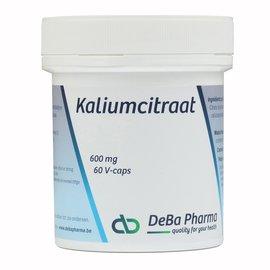DEBA PHARMA HEALTH PRODUCTS KALIUMCITRAAT (60 V-CAPS)