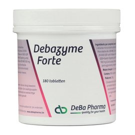DEBA PHARMA HEALTH PRODUCTS DEBAZYME FORTE (180 COMPRIMÉS)