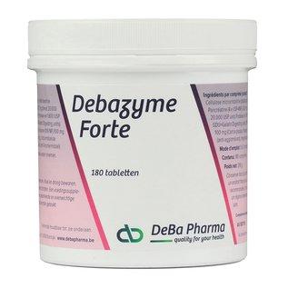 DEBA PHARMA HEALTH PRODUCTS DEBAZYME FORTE (180 COMPRIMÉS)
