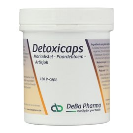 DEBA PHARMA HEALTH PRODUCTS DETOXICAPS (120 V-CAPS)