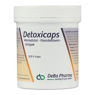 DEBA PHARMA HEALTH PRODUCTS DETOXICAPS (120 V-CAPS)