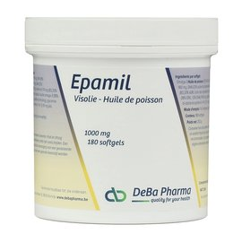 DEBA PHARMA HEALTH PRODUCTS EPAMIL HUILE DE POISSON OMÉGA 3 (180 SOFTGELS)