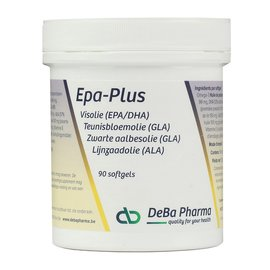 DEBA PHARMA HEALTH PRODUCTS EPA PLUS OMEGA 3-6-9 (90 SOFTGELS)