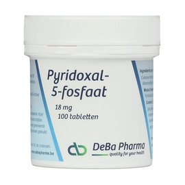 DEBA PHARMA HEALTH PRODUCTS PYRIDOXAL-5-FOSFAAT (100 TABLETTEN)