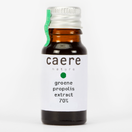 CAERE NATURA GREEN PROPOLIS GROENE PROPOLIS EXTRACT 70 % (10 ML)
