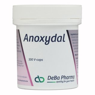 DEBA PHARMA HEALTH PRODUCTS ANOXYDAL (100 V-CAPS)