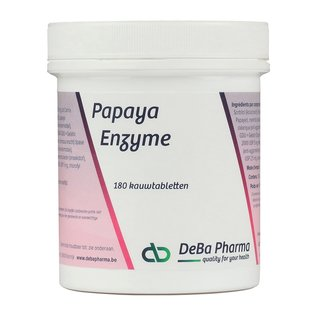 DEBA PHARMA HEALTH PRODUCTS ENZYME DE PAPAYE (180 COMPRIMÉS À CROQUER)