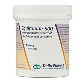 DEBA PHARMA HEALTH PRODUCTS EQUITONINE 500 LAIT DE JUMENT CONCENTRÉ (120 V-CAPS)