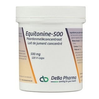 DEBA PHARMA HEALTH PRODUCTS EQUITONINE 500 PAARDENMELKCONCENTRAAT (120 V-CAPS)