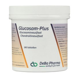 DEBA PHARMA HEALTH PRODUCTS GLUCOSAM PLUS (180 COMPRIMÉS)