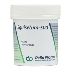 DEBA PHARMA HEALTH PRODUCTS EQUISETUM 500 (60 V-CAPS)