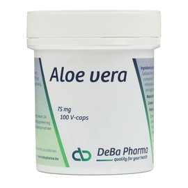 DEBA PHARMA HEALTH PRODUCTS ALOE VERA (100 V-CAPS)