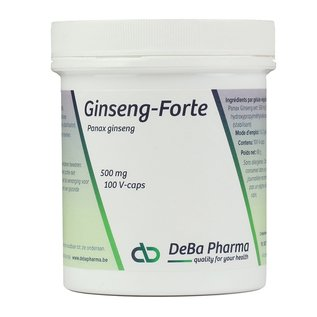DEBA PHARMA HEALTH PRODUCTS GINSENG FORTE (100 V-CAPS)