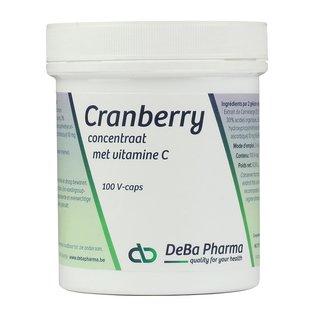 DEBA PHARMA HEALTH PRODUCTS CRANBERRY + VITAMINE C (100 V-CAPS)