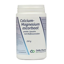 DEBA PHARMA HEALTH PRODUCTS CALCIUM-MAGNESIUMASCORBAAT met BIOFLAVONOIDEN (250 G)