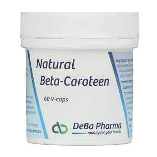 DEBA PHARMA HEALTH PRODUCTS NATURAL BETA CAROTEEN (60 V-CAPS)