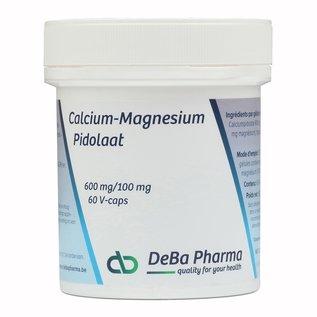DEBA PHARMA PIDOLATE DE CALCIUM-MAGNÉSIUM 600/100 (60 V-CAPS)