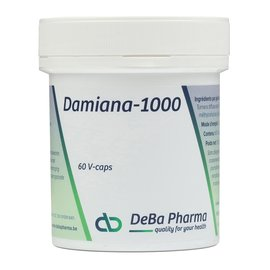 DEBA PHARMA HEALTH PRODUCTS DAMIANA 1000 (60 V-CAPS)