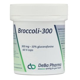 DEBA PHARMA HEALTH PRODUCTS BROCOLI 300 (60 V-CAPS)