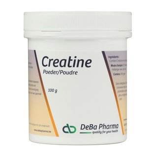 DEBA PHARMA HEALTH PRODUCTS CREATINE MONOHYDRAAT POEDER (100 G)