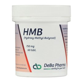 DEBA PHARMA HMB (60 TABLETTEN)