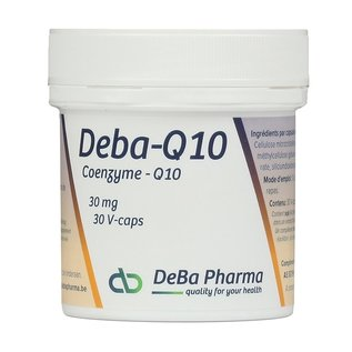 DEBA PHARMA HEALTH PRODUCTS DEBA COENZYME Q10 (30 V-CAPS)